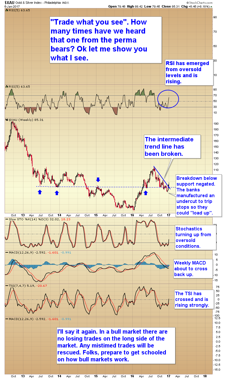gold and silver index